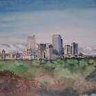 Denver Skyline by ArtPearl