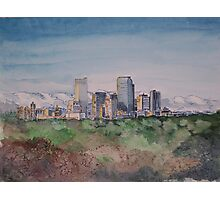 Denver Skyline Photographic Print