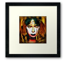 Vinnie Vincent: Pyro Pharaoh Framed Print