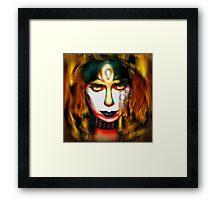 Vinnie Vincent: Pyro Pharaoh Framed Print
