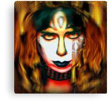 Vinnie Vincent: Pyro Pharaoh Canvas Print