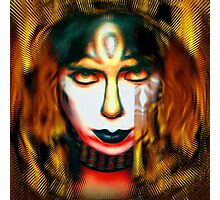Vinnie Vincent: Pyro Pharaoh Photographic Print
