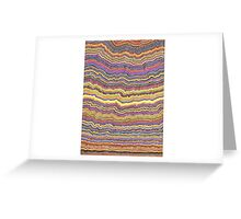 Organic Lines Greeting Card