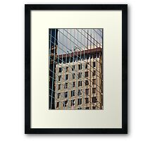 Reflections in Wellington Framed Print