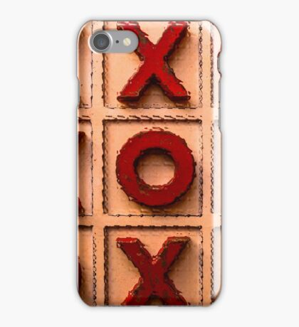 Noughts & Crosses iPhone Case/Skin