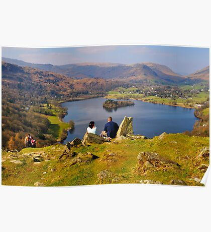 The place to be - views over Grasmere Poster