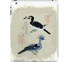 Japanese prints of birds iPad Case/Skin