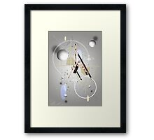 Portrait Abstract Framed Print