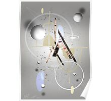 Portrait Abstract Poster
