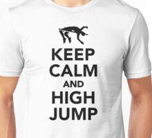 Keep calm and high jump Unisex T-Shirt