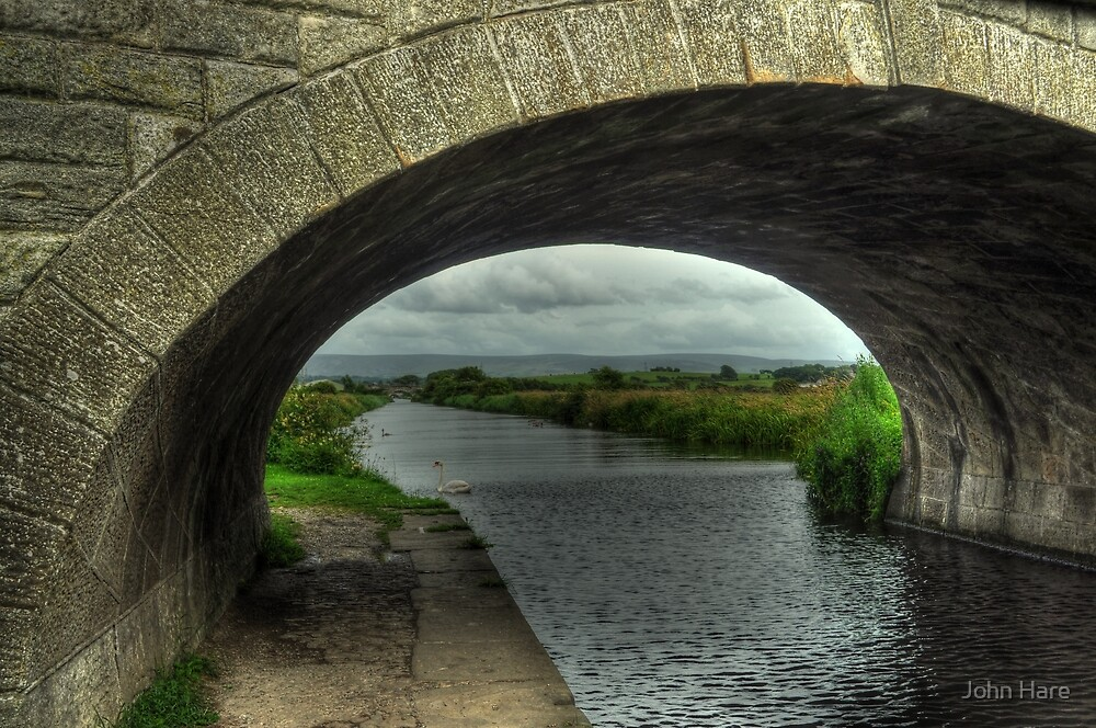 Bridge over The Lancaster Canal At Glasson by John Hare