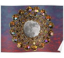 The Moon is encrusted with Jewels. Poster