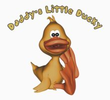 Daddy's Little Ducky Baby Tee