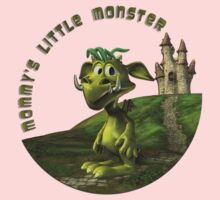 Mommy's Little Monster Kids Clothes