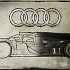 Audi R18 - Development by AndrewBerry