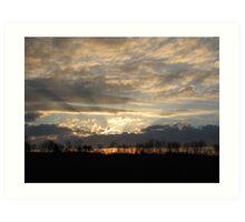 Tennessee sunrise Art Print