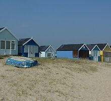 Mudeford Beach Huts by g369