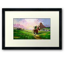 Zelda! Framed Print