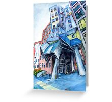 Stata Center, MIT, Boston Greeting Card