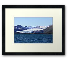 Glacial Wilderness Framed Print