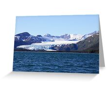 Glacial Wilderness Greeting Card
