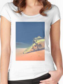 Dune walker Women's Fitted Scoop T-Shirt