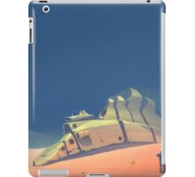 Dune walker iPad Case/Skin