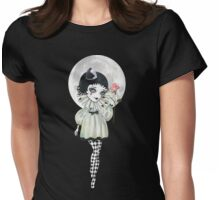 Pierrette Under the Icy Moon Womens Fitted T-Shirt