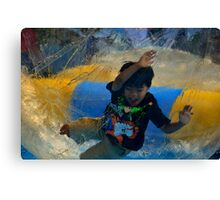 The Joy of  A Child's Play Canvas Print