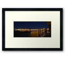Coogee Bay by Night Framed Print