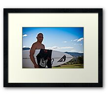 Kelly Slater Framed Print