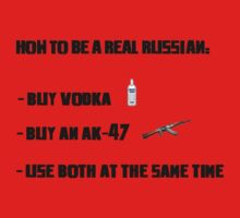 How to be a real russian by SALSAMAN