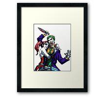Miss Me, Puddin'? Framed Print