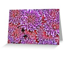 Multitude of flowers Greeting Card