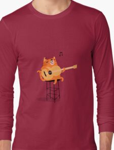 Feline Groovy Long Sleeve T-Shirt
