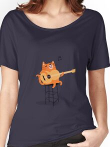 Feline Groovy Women's Relaxed Fit T-Shirt