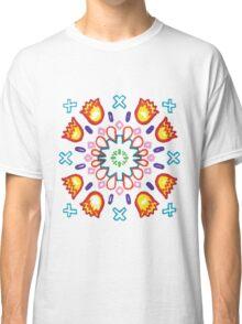 Ilamas y Cruces Azules Classic T-Shirt