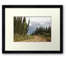 Along The Haul  Framed Print