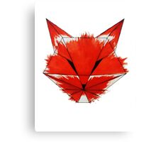 Cunning Fox Canvas Print
