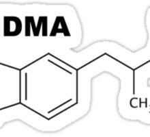 MDMA Molecule 2 Sticker