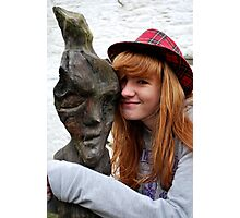Woodie and Me Photographic Print