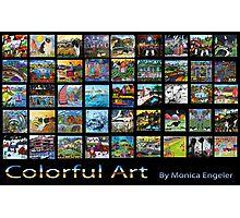 Colorful Art Photographic Print