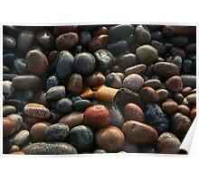 Lake Superior Pebbles Poster
