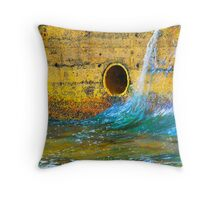 Pipe ballet Throw Pillow