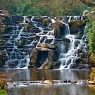 Silky Cascade at Virginia Waters by DonDavisUK