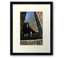 Doorway to Another Time Framed Print