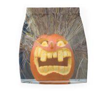 Wild Jack-O-Lantern Mini Skirt