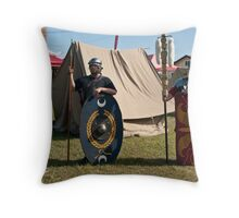 We'll Defend You - Yawn! Throw Pillow