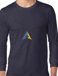 Python Arch Linux Long Sleeve T-Shirt