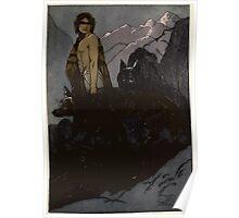 Maurice de Becque Livre de la jungle, p108 Poster
